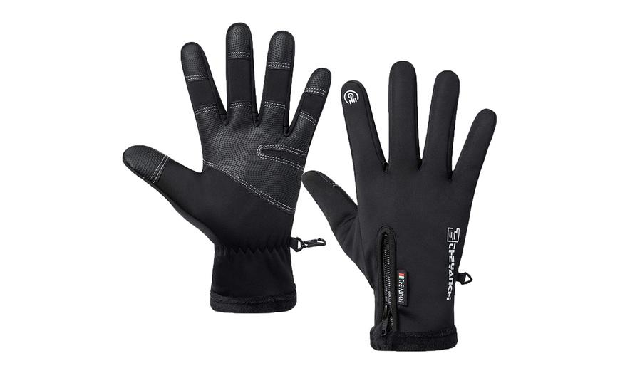 Winter Cycling Outdoor Gloves Touch Screen Waterproof Warm Men Gloves