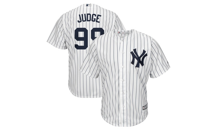 innovative design 6736e 5dbc3 Mens New York Yankees AaronJudge Home Base Player Jersey ...
