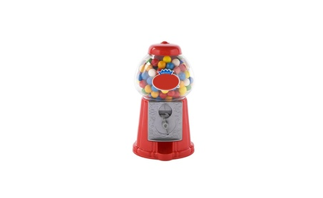 Gumball Dispenser Machine Toy Bubble Gum Included Coin Operated Bank 358d6676-301d-4500-8eb7-39b067c05653