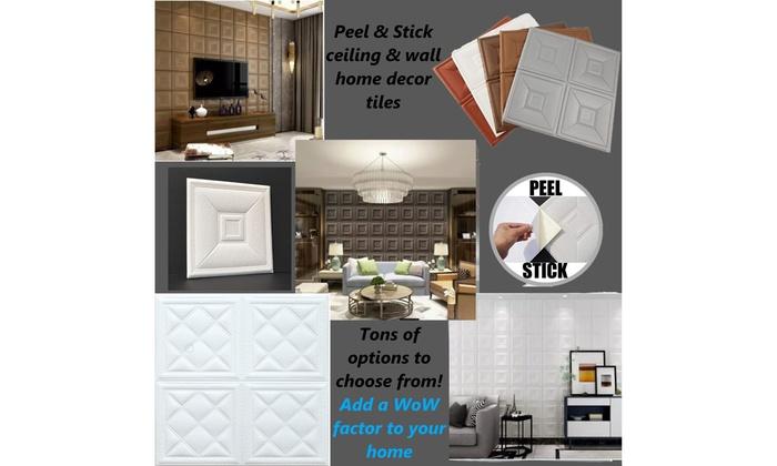 Foam Ceiling Wall Tiles L Stick