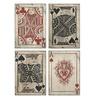 Home Decor Improvements 97028-4 Leonato Playing Card Wall Decor