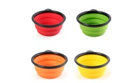 Collapsible Water and Food Bowl for Pet (4-Pack)