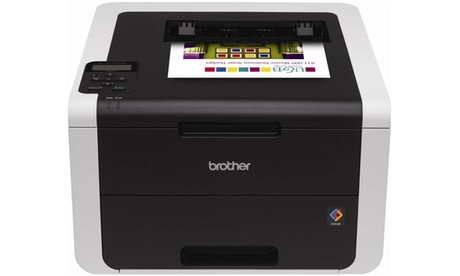 Brother Digital Color Printer with Wireless Networking and Duplex