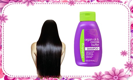 Shampoo For Shiny And Strong Hair Argan Oil & Cocoa Butter