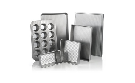 USA Pan Bakeware Aluminized Steel 6 Pieces Set df30675b-8174-4891-8232-975d929b8b29