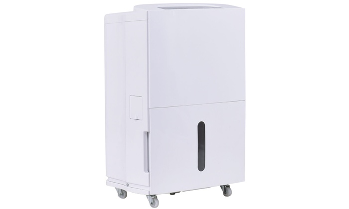 Compact 50 Pint Dehumidifier 3 Speed Fan Timer Washable Air Filter Home 8L Tank