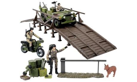 Click N Play Military Engineering Unit 29 Piece Play Set 9ed7b91b-faf8-41cd-83f3-9484c31cd2c2