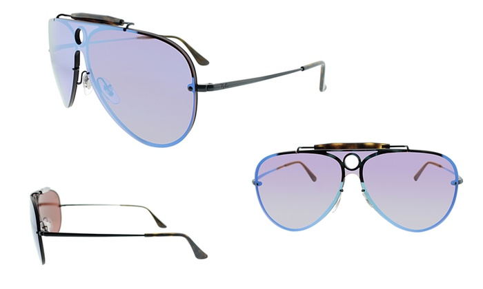 174ccb5440 Ray-Ban Cat-Eye or Blaze Shooter Sunglasses for Men and Women