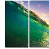 Waves Kissing Clouds - Seascape Metal Wall Art