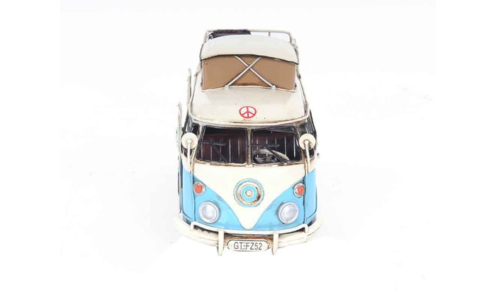 Old Modern Handicrafts Home Indoor Decorative Volkswagen Camp Bus