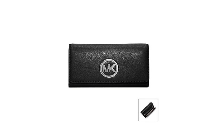 Michael Michael Kors Fulton Carryall Wallet – Black – Black