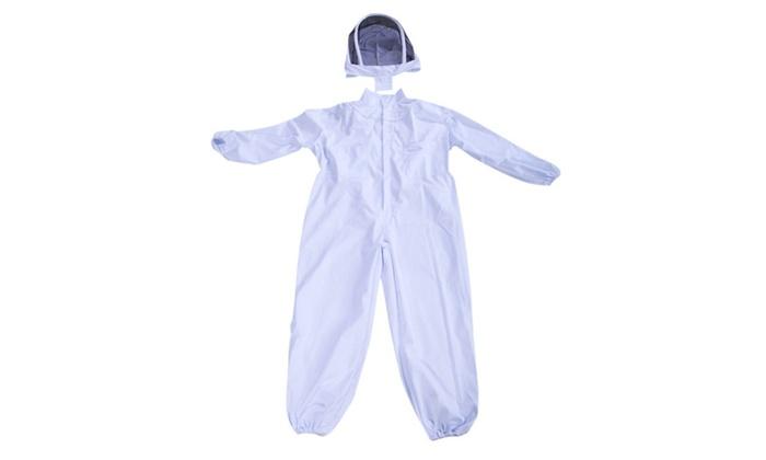 Beekeeping Beekeeper Full Body Suit Jacket Smock Pest Control Veil Net XXL