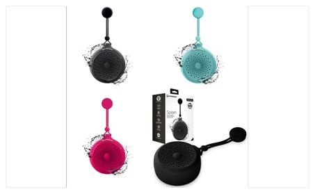 Splash Water Resistant Bluetooth Wireless Speaker Music Calls 9c0367c1-a815-4d17-9591-961d1d69f859