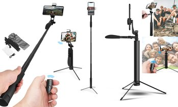 AICase MultiFunction Fill Light Bracket Video Stabilizer Tripod 80CM/110CM/160CM