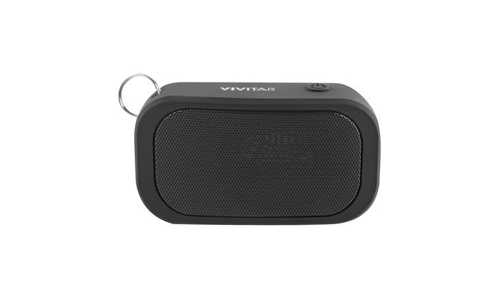 BLUE Vivitar Waterproof Mini Carabiner Bluetooth Speaker IPX7