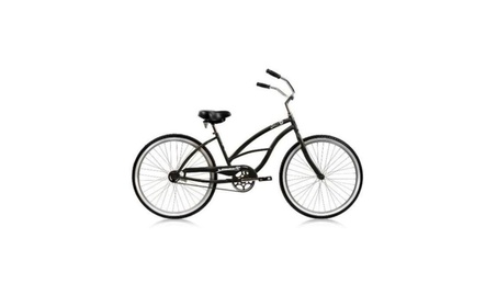 Micargi PANTERA-F-BK 26 in. Pantera Womens Beach Cruiser Bicycle 428953c2-88d1-41c9-a953-b2f44d7fb9eb