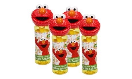 Little Kids - Sesame Street 4 Piece Bubble Heads with Wand, Elmo b900f364-562c-445a-be81-f7e623606d45