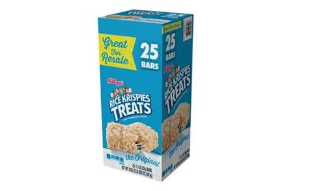 Kellogg's Rice Krispies Treats (1.3 oz. bars, 25 ct.) bb866398-d0a3-48d6-bf7f-f3c1a0f3d42b