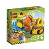 LEGO DUPLO Town Truck And Tracked Excavator 10812, Best Gift For 2-Y
