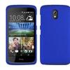 Insten Hard Rubber Cover Case For HTC Desire 526 Blue