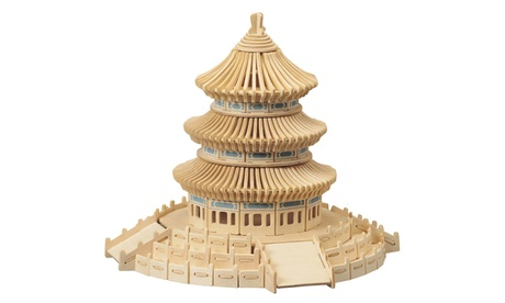 Temple of Heaven Wooden Puzzle 449d5304-6eb4-422b-aa6f-7641d80d6146