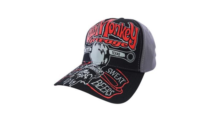 5127f9a106c Gas Monkey Garage Snapback CAP One Size