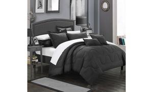 7 or 5 Piece Donnelle Bedding Basics Down Alternative complete bedding ensemble