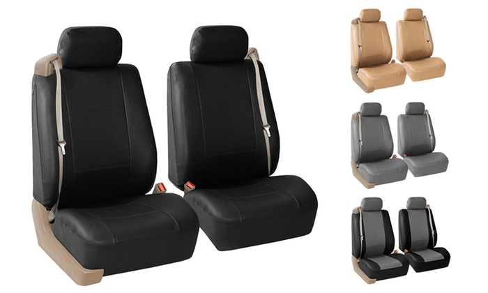 Built In Seat Belt Compatible Front Covers