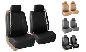Built-In Seat Belt Compatible Front Seat Covers