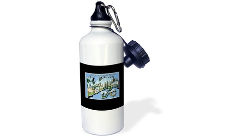 Water Bottle Greetings from Washington DC Scenic Postcard Reproduction photo