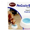 Chilled Pet Cooler Bowl Keeps Water Cool Fresh Hours Dogs & Cats
