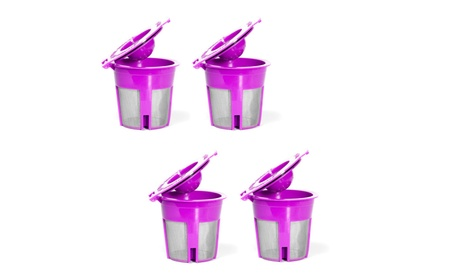 4 Pack New Model Reusable K Cup Refillable Keurig 2.0 and 1.0 Kcup photo
