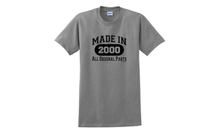 18th Birthday Gifts Made 2000 All Original Parts T-Shirt photo