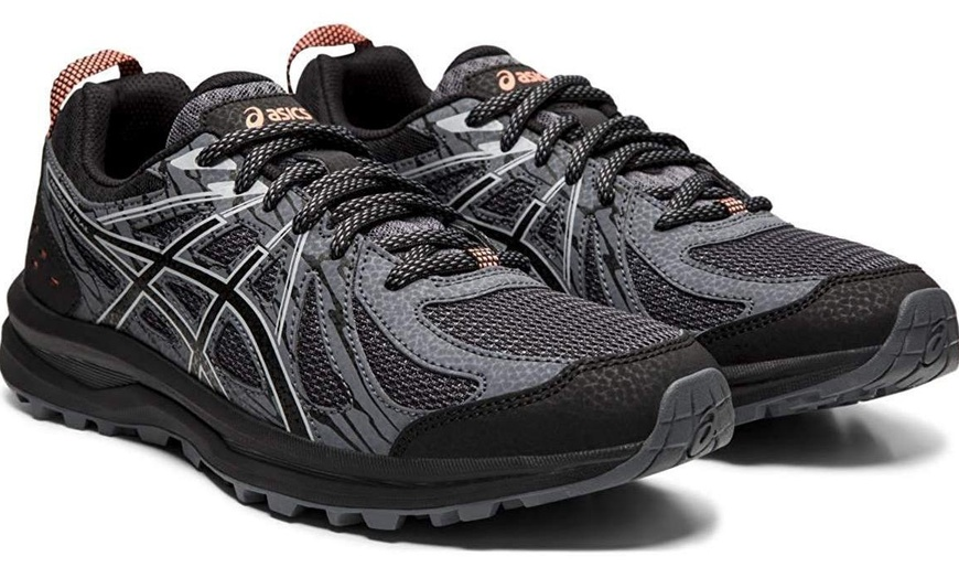 Asics Frequent Trail Womens Sneaker - Size 7   Groupon