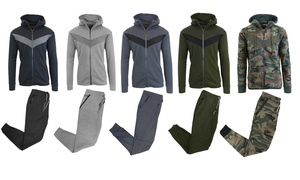 Men's Tech-Fleece Hoodie and Joggers Set