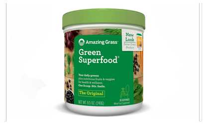 Detox superfoods deals coupons groupon shop groupon amazing grass green superfood original 30 servings 85 ounces malvernweather Gallery
