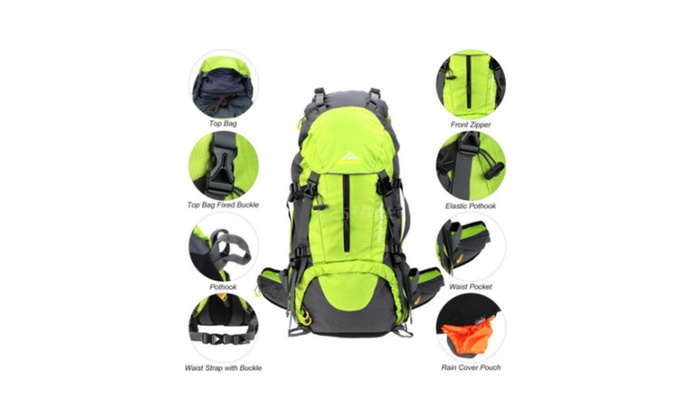 Oxking 50 Liter Outdoor Sports Hiking Climbing Camping Backpack