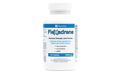 NexGen Biolabs Flexadrene Pills to Aid Joint Pain and Stiffness (60ct)