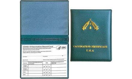 Vaccine Card Holder Vaccination Passport Holder Was: $15.00 Now: $2.99