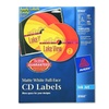 Avery Consumer Products AVE8960 Labels- CD- Inkjet Matte- 40-Labels- 8