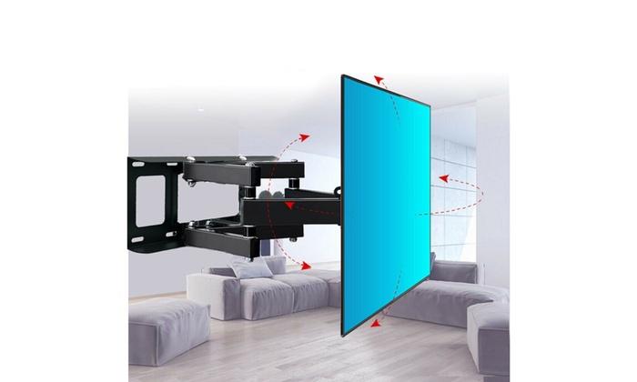 37 42 46 50 55 60 70 inch Full Motion TV Wall Mount Bracket LCD LED Heavy Duty