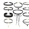 Choker Necklace Set By Diane Lo'ren (10-Piece)