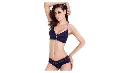 Maternity women underwear set breast-feeding bra no steel ring 85bf72b0-df57-4ca4-93dc-814b7ed24449