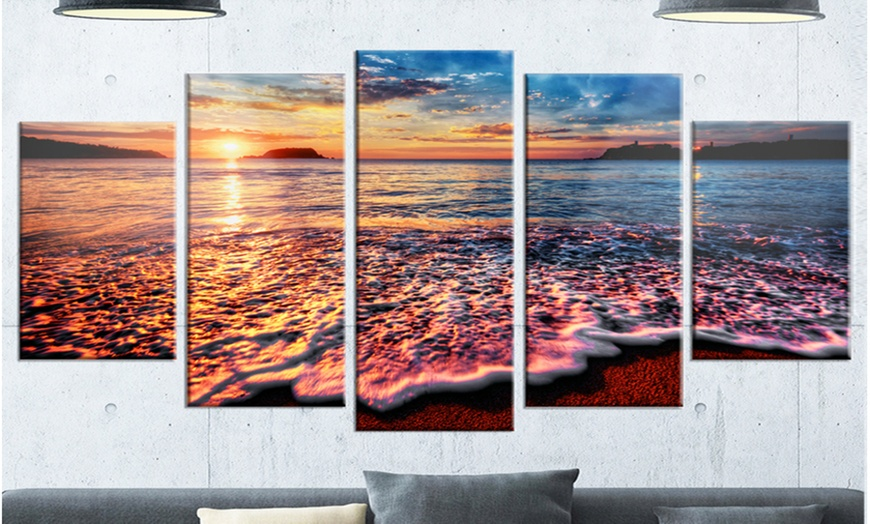 Up To 14 Off On Peaceful Evening Beach View Groupon Goods