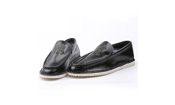 Ruber Pu Cloth Breathable Fashion Leisure British Style Men Doug Shoes