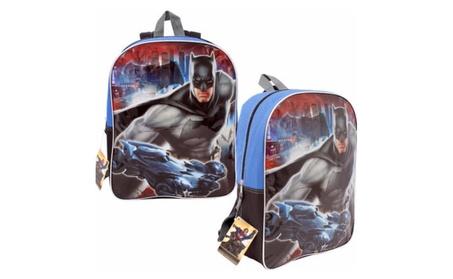 """DC Comics Batman, Superman Backpack, 15"""" 9f97e735-fc2a-473f-8a61-0380a759c897"""
