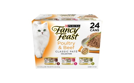 Purina Fancy Feast Classic Gourmet Variety Pack Wet Cat Food - (24) 3 827a87b7-5e34-42c6-aa96-7143450f319a
