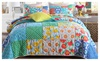 Love in bloom gbkq: Handmade Cotton Patchwork Printing 3 Pieces Quilt set King Size