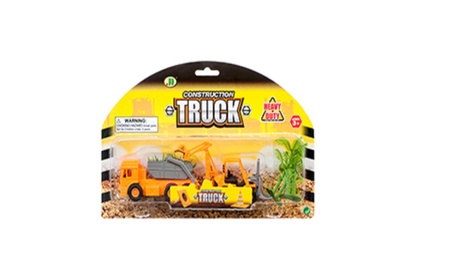 Toy Contruction Truck W/ Accessorie ad6d3fed-5ea2-4a14-852f-31ef3dd7a07d