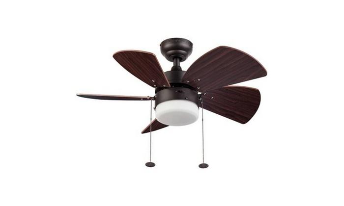 """30"""" Honeywell Lenox Ceiling Fan, Bronze"""